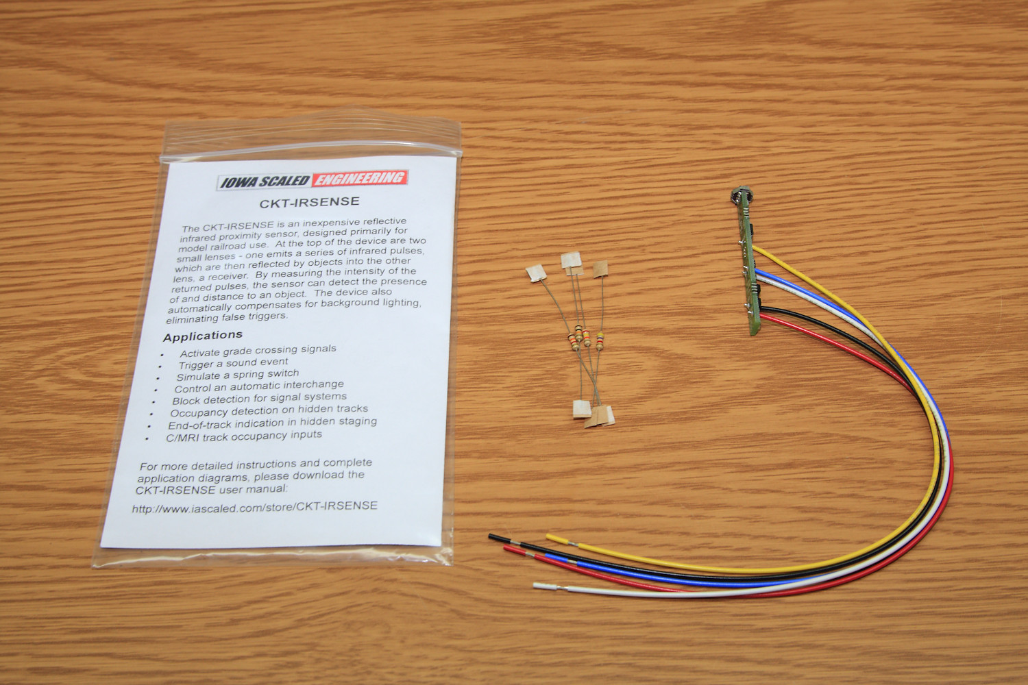2018 Optical Detector Roundup Iowa Scaled Engineering Llc Infrared Proximity Switch Sensor Circuit Using A Lm393 Voltage The Ckt Irsense Package