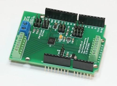Data acquisition arduino shields iowa scaled engineering