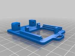 The 3D model of the MRServo-2 / MRServo-3 Bracket