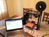 My second 3D printer - a Lulzbot Mini - sitting on my dining room table