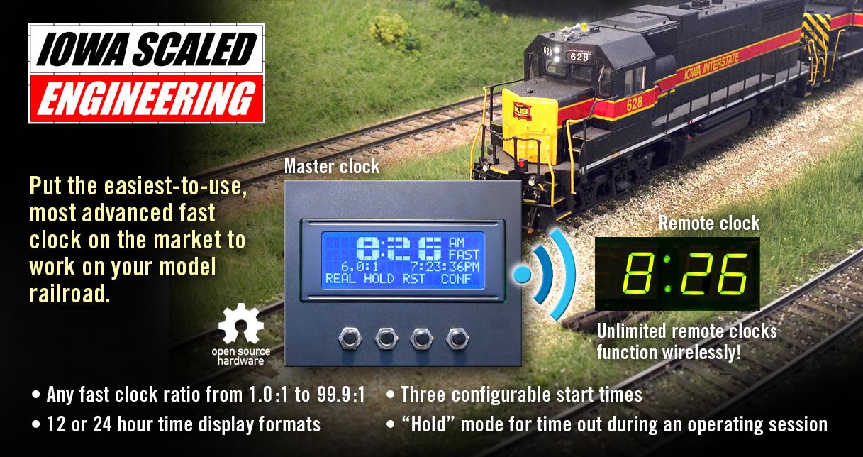 Wireless Networked Fast Clocks