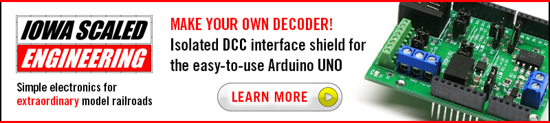 Arduino DCC Shield