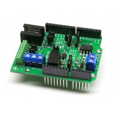 DCC Decoder Shield for Arduino