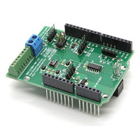 8-Channel 16-Bit 200ksps ADC Data Acquisition Shield for Arduino