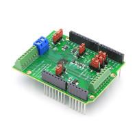16-Channel 24-Bit ADC Data Acquisition Shield for Arduino (3.3V IO Version)