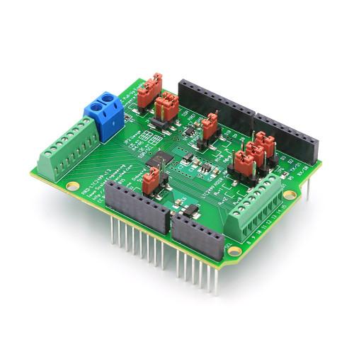 ARD-LTC2499: 16-Channel 24-Bit ADC Data Acquisition Shield