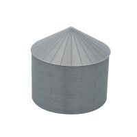 """24' HO-Scale Galvanized Steel Grain Bin Kit (2.66"""" Corrugation)"""