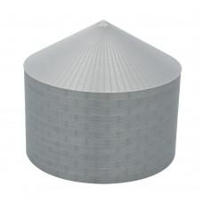 """75' N-Scale Galvanized Steel Grain Bin Kit (4"""" Corrugation)"""