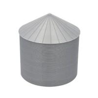 "24' S-Scale Galvanized Steel Grain Bin Kit (2.66"" Corrugation)"
