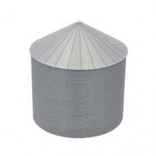 "24' S-Scale Galvanized Steel Grain Bin Kit (2.66"" Corrugation)"